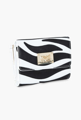 Meryl Leather Small Flap Wallet