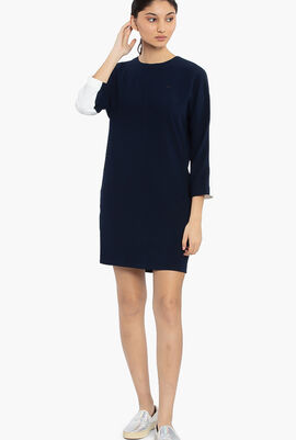 Full Sleeves A Line Dress