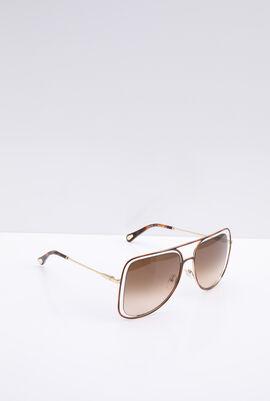 Butterfly Havana/Brown Women's Sunglasses