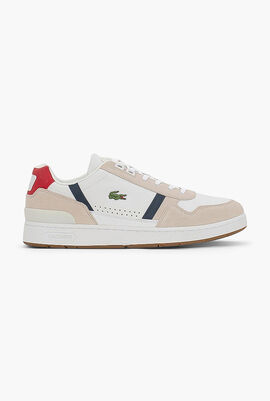 T-Clip Leather Trainers