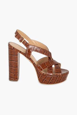 Audrina Platform Heel Sandals
