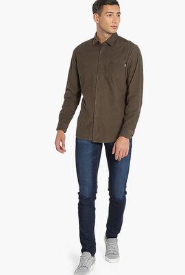 GMT Dye Corduroy Slim Fit Shirt