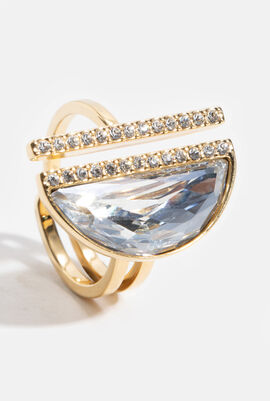 Glow Crystal Ring, 58 mm