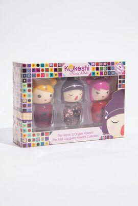 The Nail Lacquer Kokeshi Collection Set