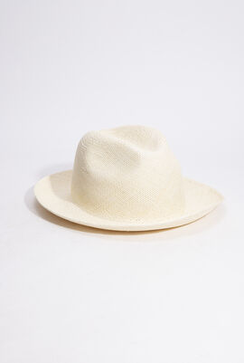 Charming Natural Straw Panama Hat