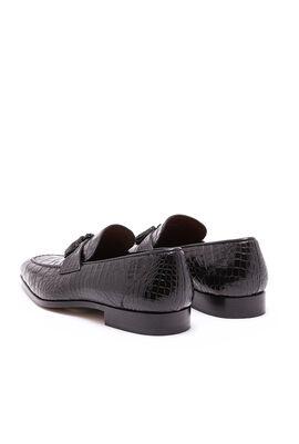 Alligator Skin Loafers