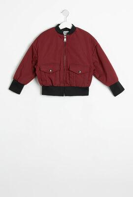 Flap Pocket Bomber Jacket