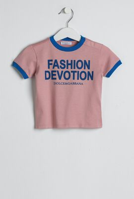 Fashion Devotion Print T-shirt