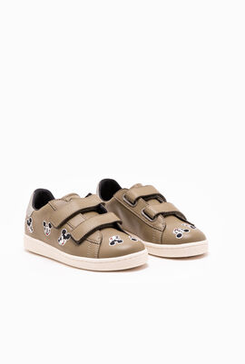 Mickey Mouse Velcro Sneakers