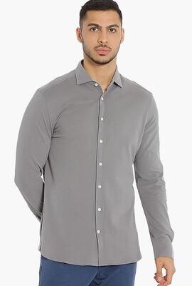 Jersey Kent Slim Fit Shirt