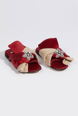 Specchio Argento Sandals