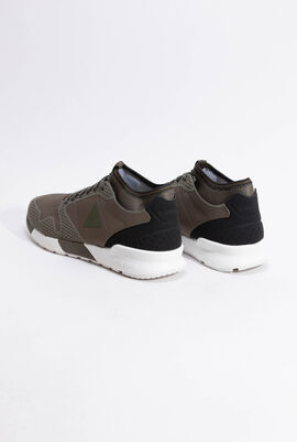 Omicron Tech Modern Olive Night Trainers