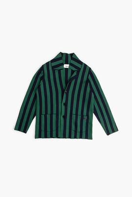 Striped Sweat Jacket