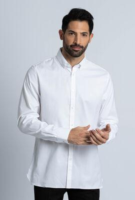 قميص من قطن بينبوينت المرن بقَصَّة ضيقة
