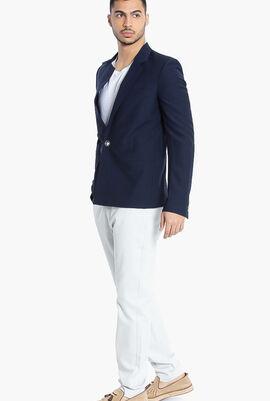 Versus Gianni Single-Breasted Suit Jacket