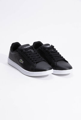 Carnaby Evo Mesh-lined Leather Black Sneakers