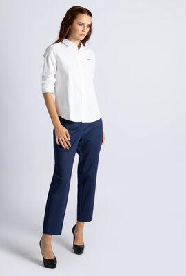 Slim Fit Oxford Cotton Shirt
