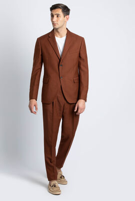 Stripes Tailored Fit Suit
