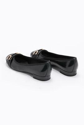 Wistrey D Patent Leather Ballet Flats