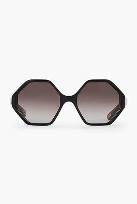 Willow Hexagonal Sunglasses