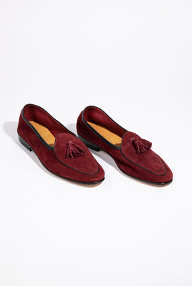 The Sagan Tassel Loafers