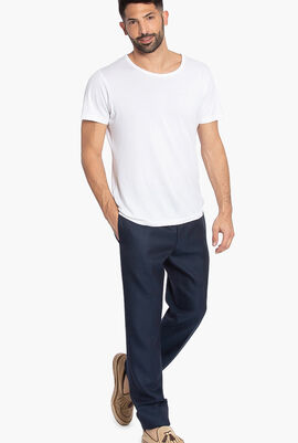 P Straight Fit Trousers