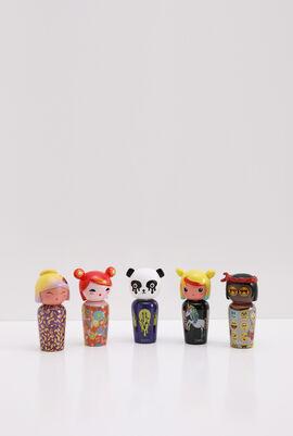 Kokeshi By Jeremy Scott Miniatures Gift Set
