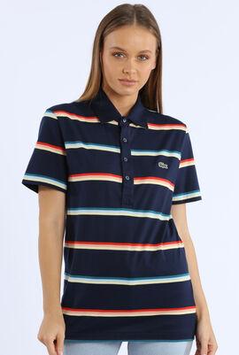 Regular Fit Striped Polo Shirt