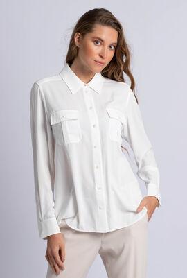 Button-Up Chest Pocket Shirt
