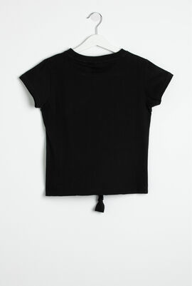Denise Hem Knot T-Shirt