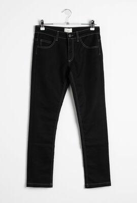 Denim Stretch Trousers