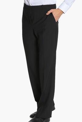 Plain Classic Fit Trousers