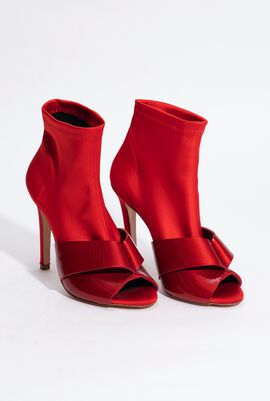 Belize Satin Booties