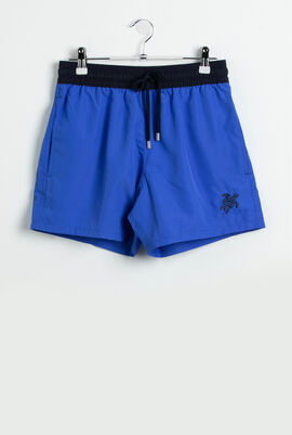 Moxe Contrasting Band Swim Trunks