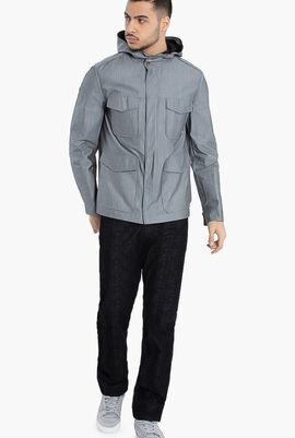 Multi-Pockets Blouson Jacket