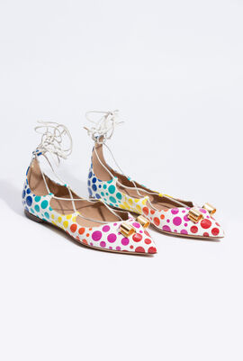 Claire Polka Dots Sandals