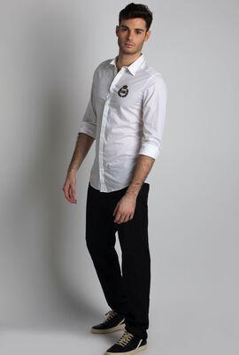 White King Crown Long Sleeve Shirt