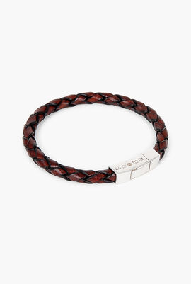 Single Wrap Scoubidou Leather Bracelet