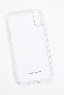 حافظة هاتف iPhone X/Xs مزينة بنقشة نمر