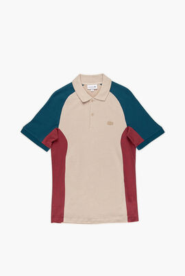 Colourblock Regular Fit Polo Shirt