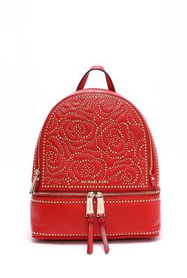 Rhea Mini Studded Leather Backpack