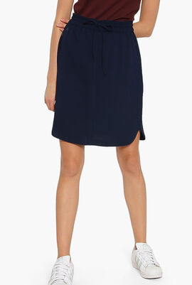 Elasticised Waistband Skirt
