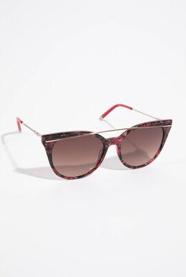 Marble Round Sunglasses