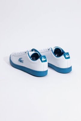 Carnaby Evo Lace-up White/Blue Sneakers