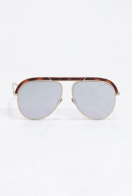 Desertic Mirrored Aviator Sunglasses