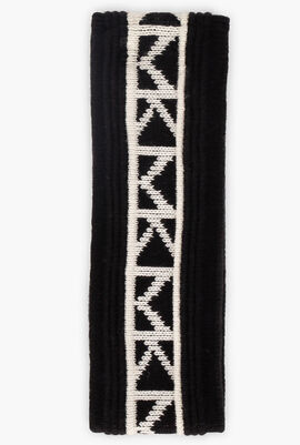 Logo Trim Nylon-Blend Headband