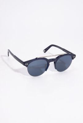 Blue Mono Sunglasses