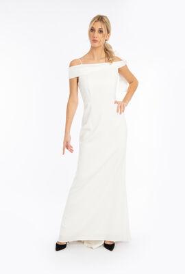 Strappy Bow Side Dress