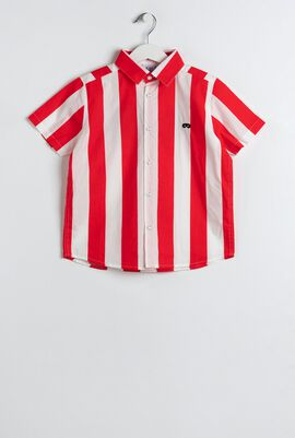 Red Deck Chair Stripe Shirt
