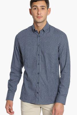 Check Pattern Slim Fit Shirt